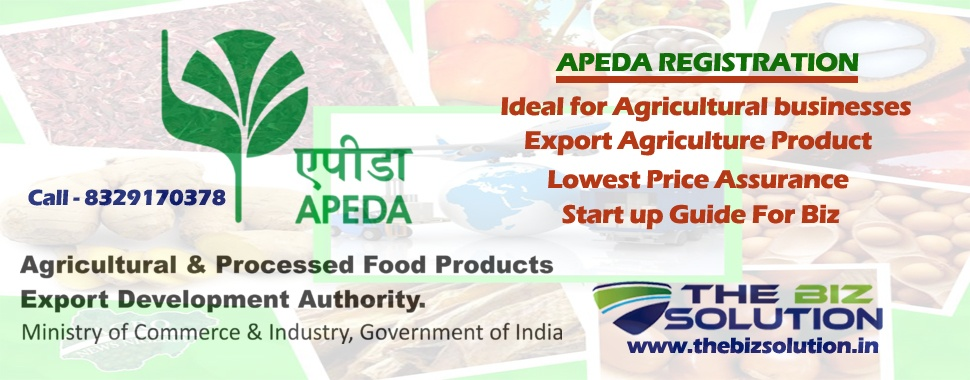 33% OFF Online Apeda Registration lowest price For Export Agro & Food  Product